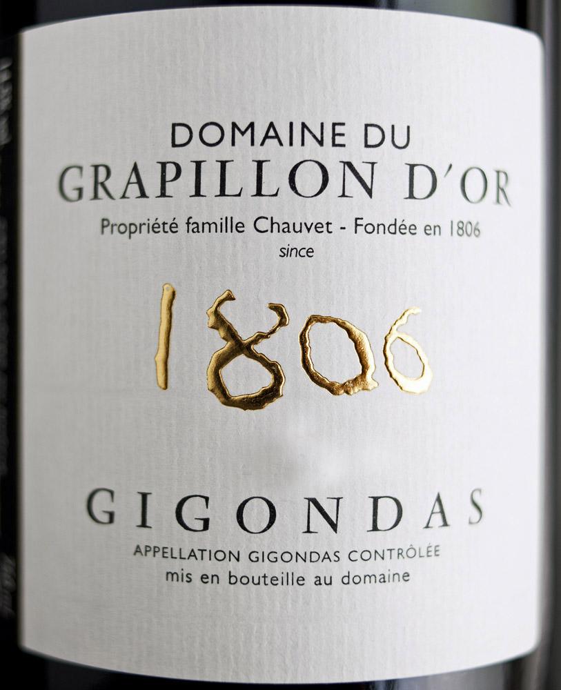 2010 Gigondas | Domaine du Grapillon d'Or