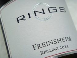 Der 2011er Freinsheim-Riesling des Weinguts Rings