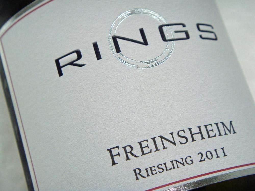 2011 Riesling von Rings, Freinsheim
