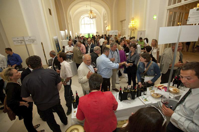 Viel Andrang bei Österreichs wichtigster Weinmesse VieVinum | Foto:©Österreichische Weinmarketing Gesellschaft