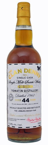 "Tomatin 44y 1967-2012 Hunter Hamilton - The Clan Denny for ""The Limburg Whisky Fair"""
