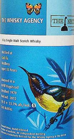 Caol Ila 33y 79-12 – TWA with the Nectar - Bourbon Cask - 241btl – 53.7%