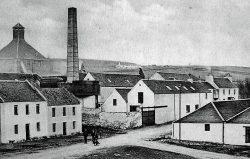 Port Charlotte-Brennerei um 1900 | Foto: Islayinfo.com