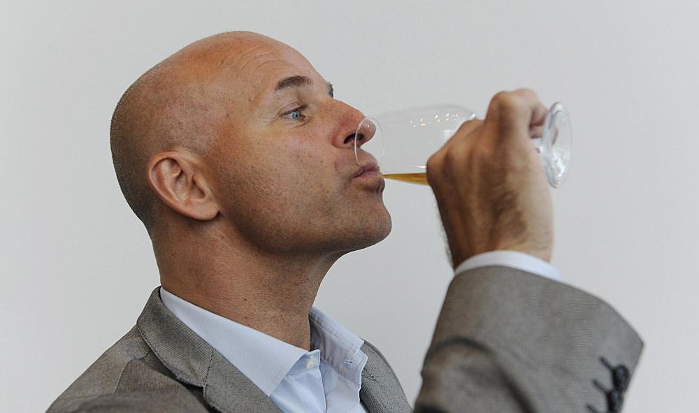 Champagner-Experte Richard Juhlin