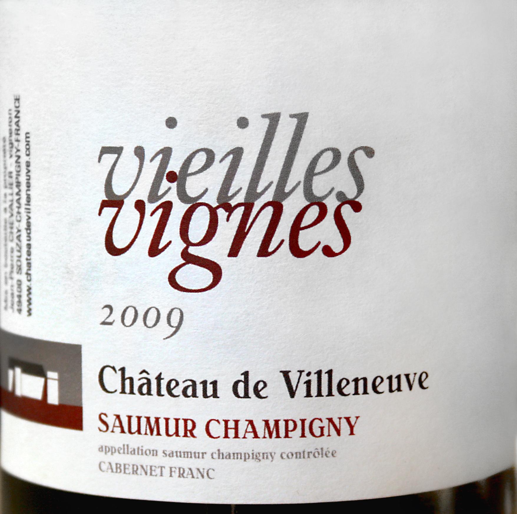 2009 Saumur Champigny, Vieilles Vignes