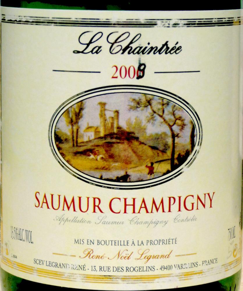 2009 Saumur Champigny La Chaintré