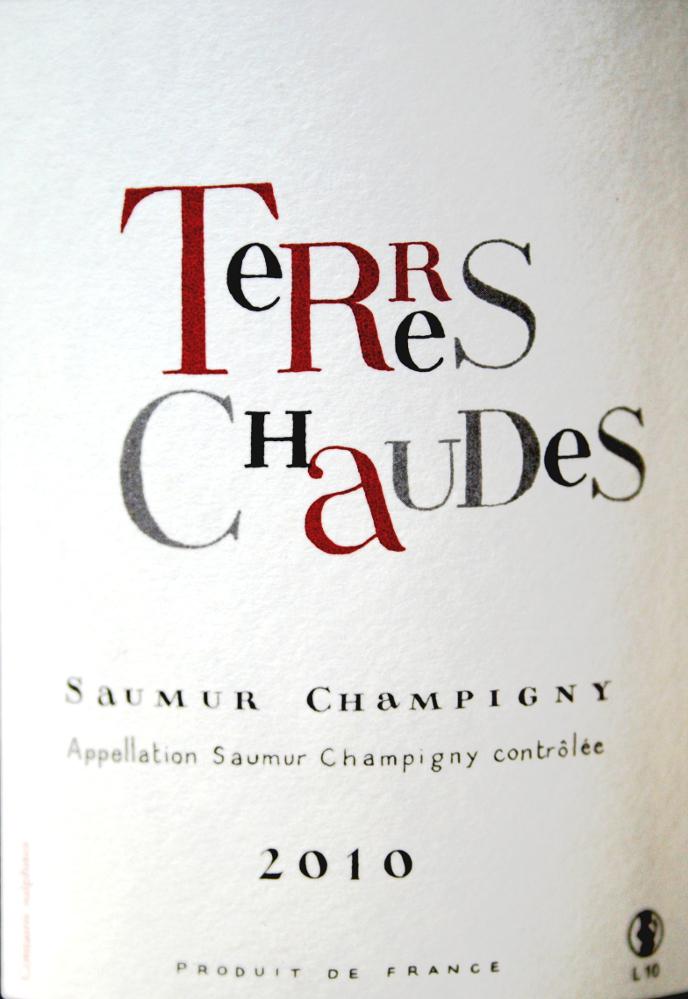 2010 Saumur Champigny Terres Chaudes