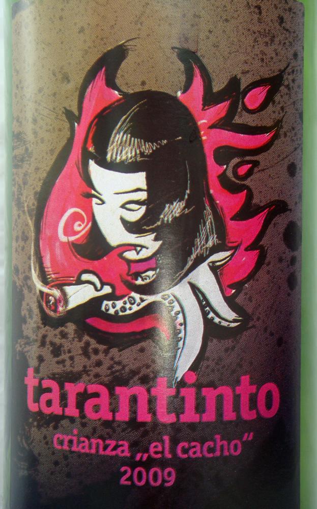 Etikett Tarantinto El Cacho