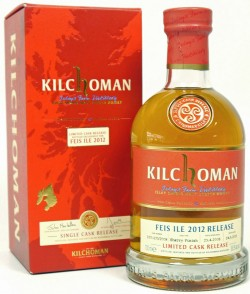 Kilchoman Feis Ile 2012 Red Label Sherry-Finish, 2008-2012 – 4y cask 100-103/2008, 58.5%, 439 limited