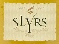 Slyrs 3yo 2007-2010 New American Oak Cask - 43%