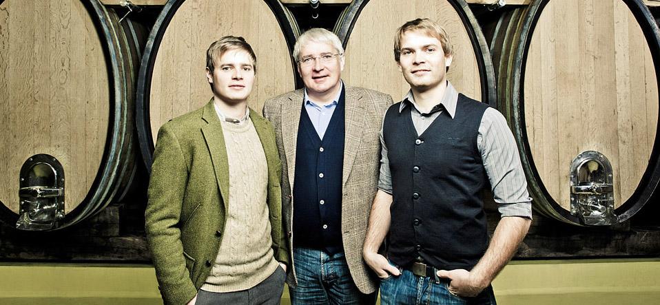 Johannes, Alois und Michael Gross