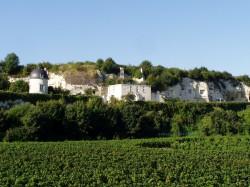 Tuff-Ufer bei Parnay