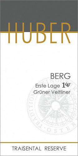 Etikett Erste Lage Berg - Markus Huber
