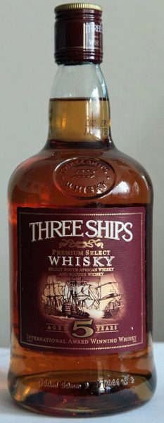 Three Ships Premium Select Blended Whisky – 5y, 43%