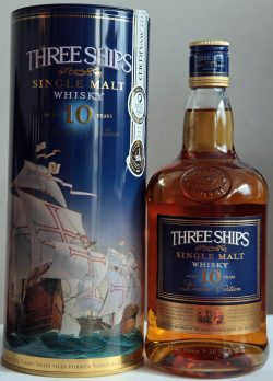 Three Ships Sin­gle Malt Whisky – 10y, 43%