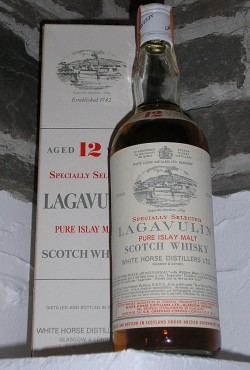 Lagavulin 12yo 1960/1973 - White Horse Pure Malt Carpano Torino Import, 43%