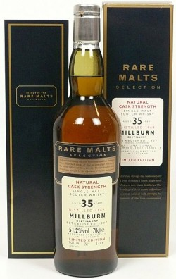 Millburn 35yo 1969 Rare Malts Selection 2005 (51.2%)