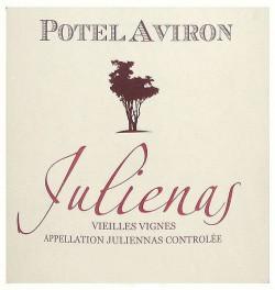 Etikett Potel Aviron Julienas