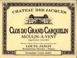 Etikett Louis Jadot Chateau des Jacques - Moulin-a-Vent