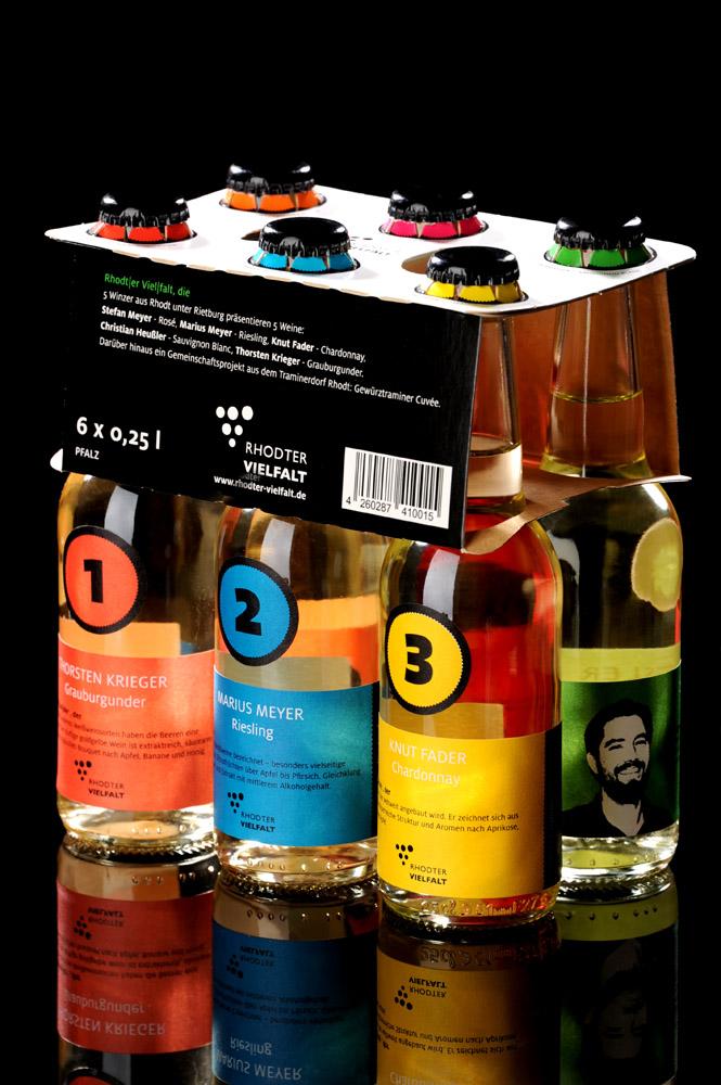 """Wein-Sixpack """"Rhodter Vielfalt"""""""