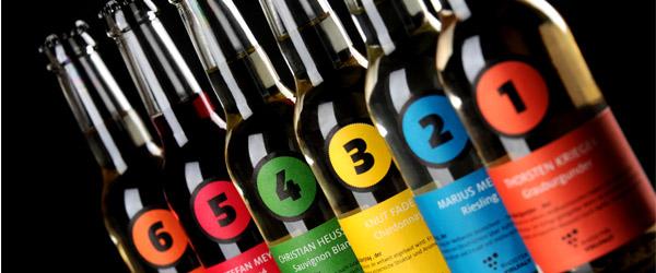 """Die sechs Flaschen der """"Rhodter Vielfalt"""""""