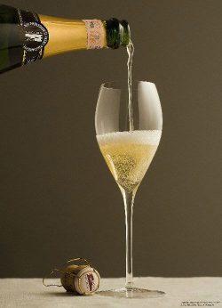 Franciacorta-Schaumwein aus der Lombardei