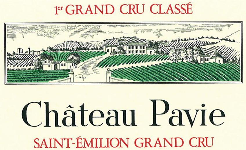 Etikett Château Pavie