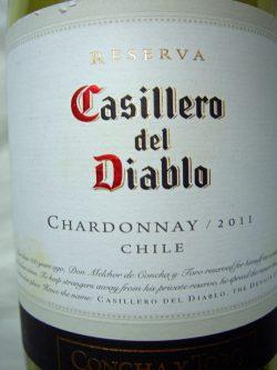 20011 Chardonnay Reserva - Casillero del Diablo