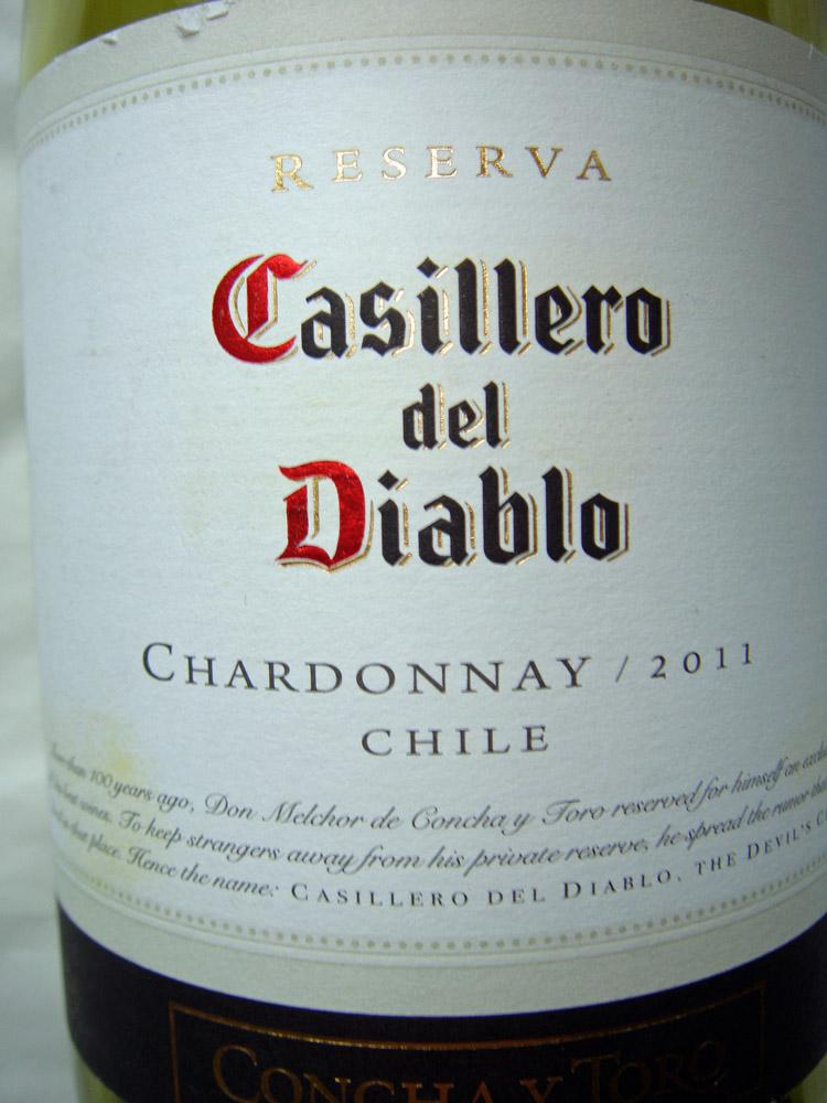 20011 Chardonnay Reserve - Casillero del Diablo
