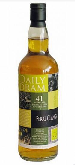 Glenfarclas 41y 1966-2008 Feral Clangs Daily Dram