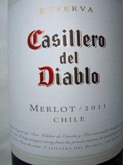 2011 Merlot Reserva - Casillero del Diablo