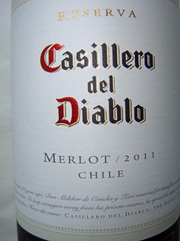 2011 Merlot - Casillero del Diablo
