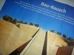 Der in der Süddeutschen Zeitung erschienene Artikel über moderne Weingutsarchitektur.