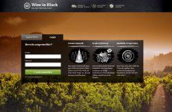 Wine in Black - Startseite
