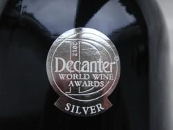 Silbermedaille vom Decanter