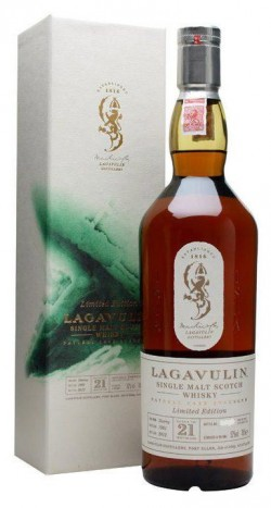 Lagavulin 21y 1991-2012 First fill ex-sherry European Oak casks 52% - 2772btl.