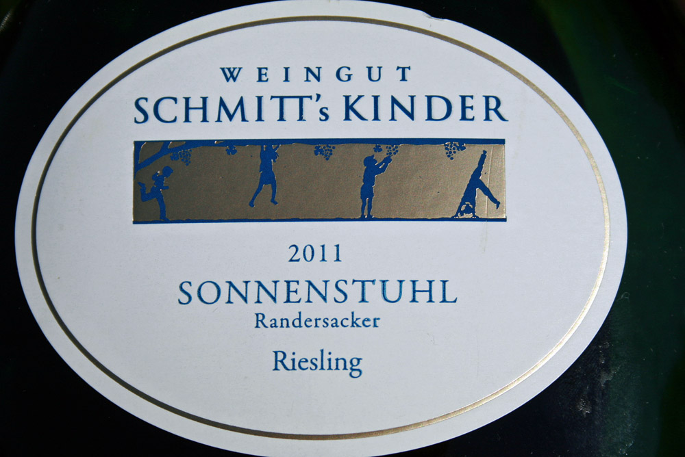 2011 Randersacker Sonnenstuhl Riesling Kabinett trocken
