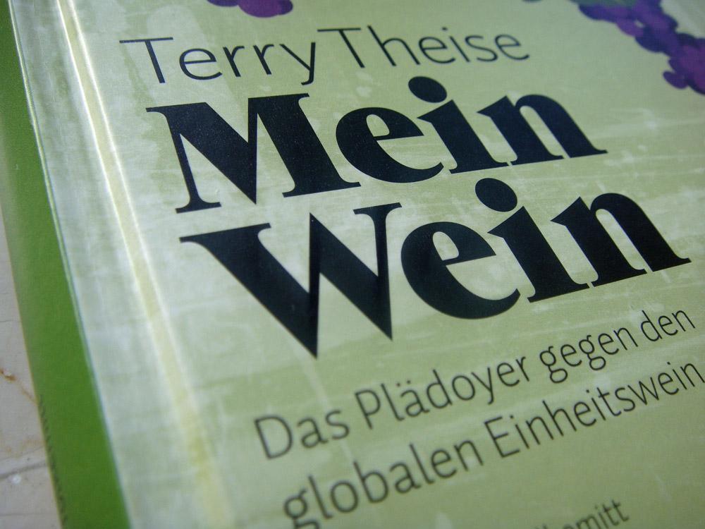 """Buchcover """"Mein Wein"""" von Terry Theise"""