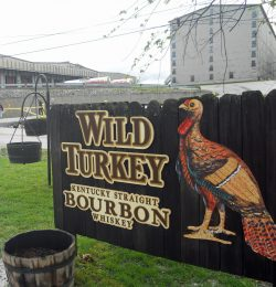 Firmenschild Wild Turkey