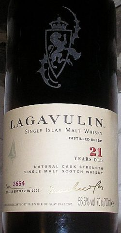 Lagavulin 21y 1985-2007 Spanish Sherry European Oak casks 56.5%