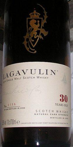 Lagavulin 30y 1976-2006 Refill American Oak casks 52.6%