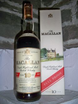 Macallan 10y Full Proof Sherry Cask