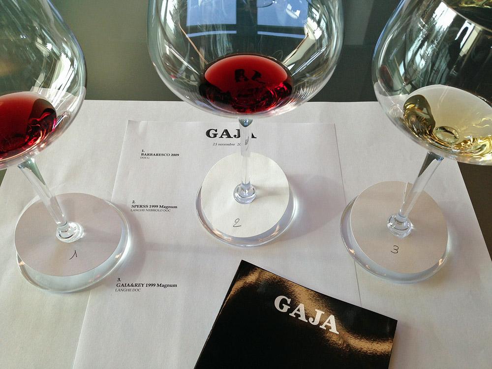 Drei Weine von Angelo Gaja