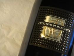 "2009 Primitivo di Manduria ""Sessantanni"""