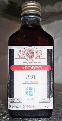 Ardbeg 20y 90-11 PX Dark Sherry Hogshead, Geert Bero
