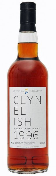 Clynelish 16y 1996-2012 Eldvatten, 1st fill Sherry Butt 8780, 240 btl, 57.2%