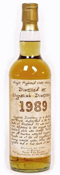 Clynelish 22y 1989-2012 Thosop, bourbon barrel, 138 btl, 53.5%
