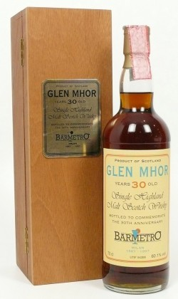 Glen Mhor 30 Anni Bar Metro