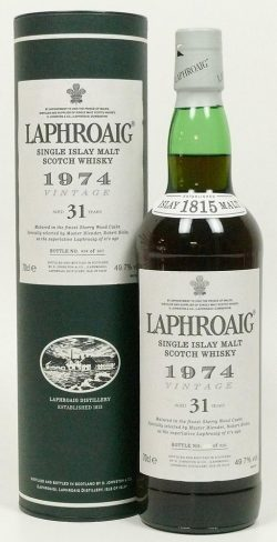 Laphroaig OA for LMDW 1974-2005 31y Sherry Cask, 49.7% - limited 910