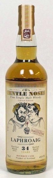 Laphroaig JWWW Gentle Noses 1975-2010 34y Bourbon Cask Nr.1035, 40.6% - limited 120